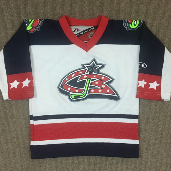 new concept baebd eed9f Columbus Blue Jackets NHL Hockey Jersey Toddler 2T